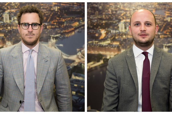 Headshots of LiFE Area Managers, Oliver Tyrrell and Josh Larn